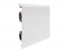 Heizleiste 3 Meter Art-Deco Pro-Classic weiß