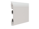 Heizleiste 1 Meter EasyClean Design Profil weiß