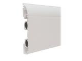 Heizleiste 2 Meter EasyClean Design Profil weiß