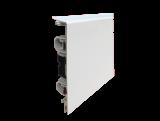 3 Meter Elektrische Heizleiste Pro-Classic Profil weiß