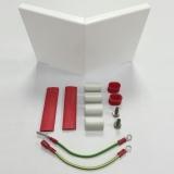 Flexible Außenecke für Elektrische Heizleiste Pro Classic Profil weiß