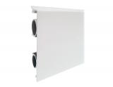 Heizleiste 4 Meter Art-Deco Pro-Classic weiß