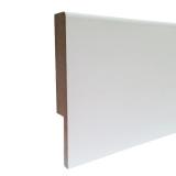 Heizleiste Dummy 1 Meter in Art-Deco Classic Design (weiß)